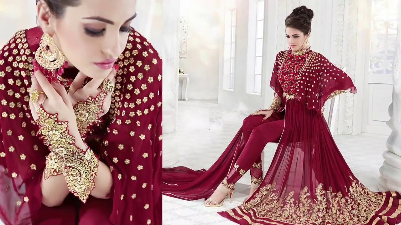 Designer dresses latest indo western suits indian long Designer clothes discounted
