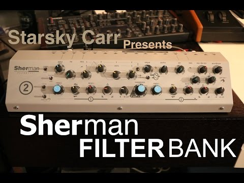 Sherman Filterbank Walkthrough and Demo