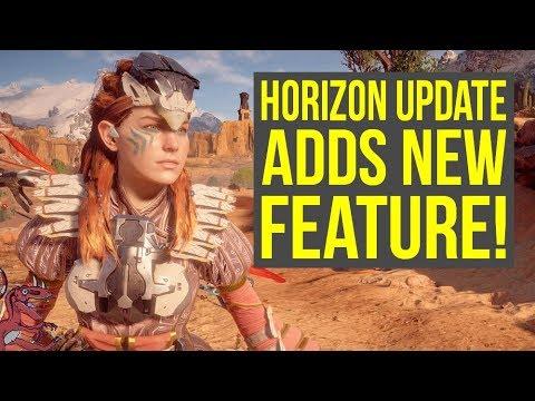 Horizon Zero Dawn Update 1.33 ADDS NICE NEW FEATURE & More (Horizon Zero Dawn 1.33 - Horizon 1.33)