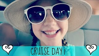 Summer Vacation on Fun Cruise | Day 1 - Finding our way around