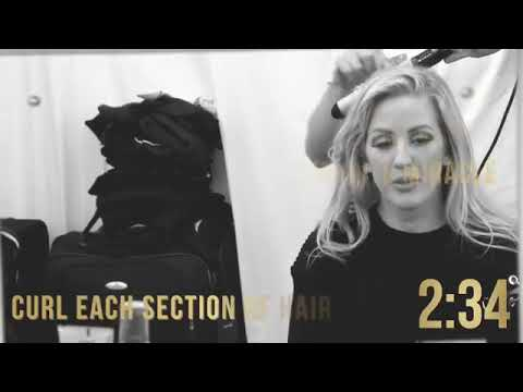 ELLIE GOULDING Hair Styling