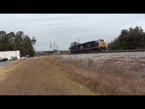 Trains in Waycross Georgia 4 December 2016