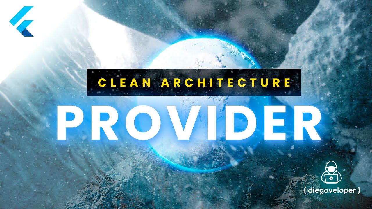 Flutter Clean Architecture + Provider - DeliveryApp