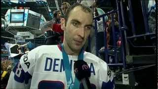 Zdeno Chára MS 2012 - Rozhovor po zápase