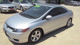 2008 HONDA CIVIC 2door Start Up  Walk Around Tour by Automotive Review