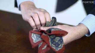 Four Ways To Fold A Pocket Square