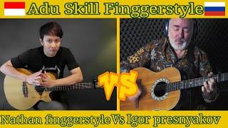 Gambar cover KEMARIN Seventeen - Adu Skill Finggerstyle Gitar | Igor Presnyakov Vs Nathan Finggerstyle