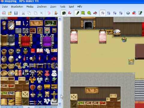 Mapping - RPG Maker VX - Tutorial 1 [ Deutsch / German ]
