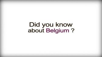 Did you know? - Belgium - Belgian Business Culture video