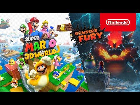 Esplora un mondo di divertimento in compagnia di Super Mario 3D World + Bowser's Fury!