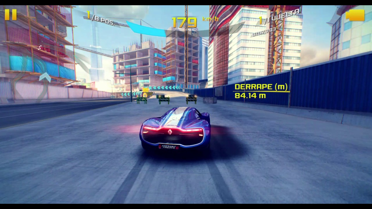 Asphalt 8 electric cars