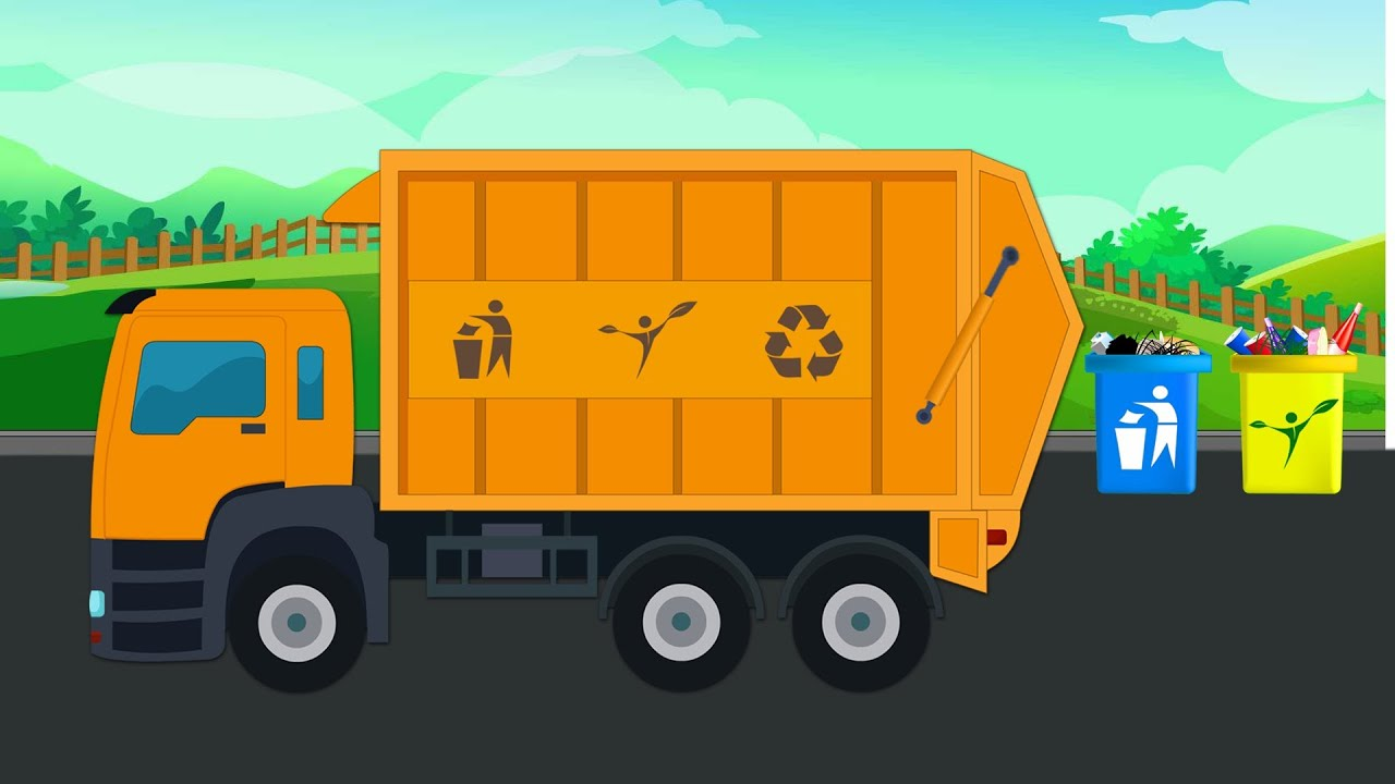 Garbage Trucks For Kid Videos