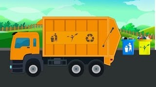 Kids Channel Garbage Truck | Kids Vehicles