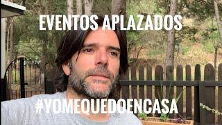 Aplazamos todos los eventos en México