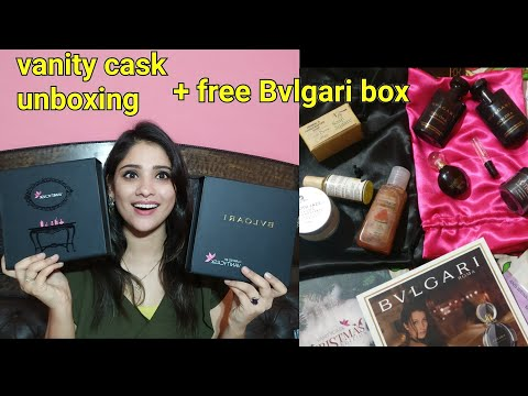 Vanity cask December unboxing || luxury Beauty products free || shystyles