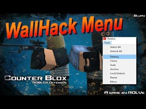 Patched Roblox Counter Blox Exploit Wallhack X Ray Delete - como clonar armas en counter blox roblox offensive roblox youtube