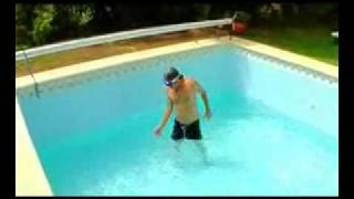 The Disappearing Pool Water
