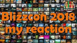 Blizzcon 2018 Diablo and WOW Classic Reaction