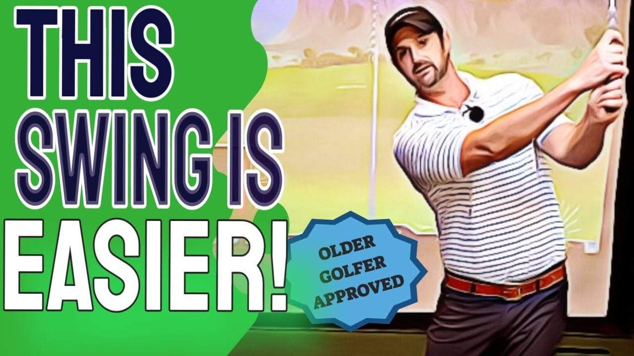 Unusual Golf Swing For Speed And Consistency As You Get Older | Effortless Golf Swing For Seniors