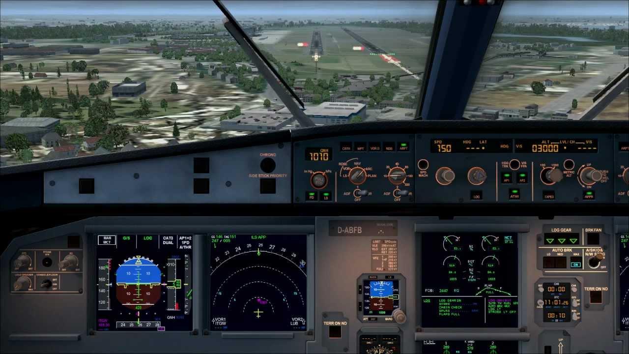 Airbus a330 Panel fsx