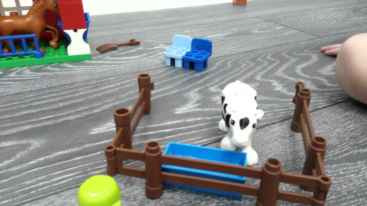 LEGO DUPLO 10525: Большая ферма - YouTube