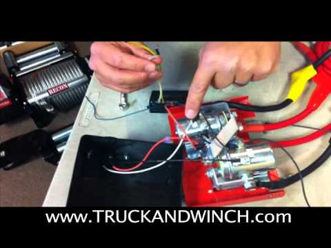 Winch Controller Wiring Diagram Ls1 Alternator Tuff Stuff Wireless Remote Instructions Mov Youtube