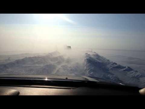 Зимние дороги Экибастуза