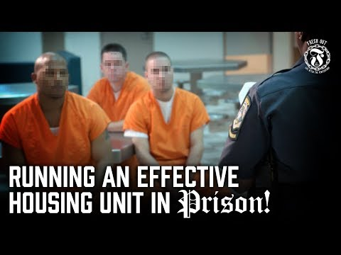 Running an effective Housing Unit in Prison - Prison Talk 14.12