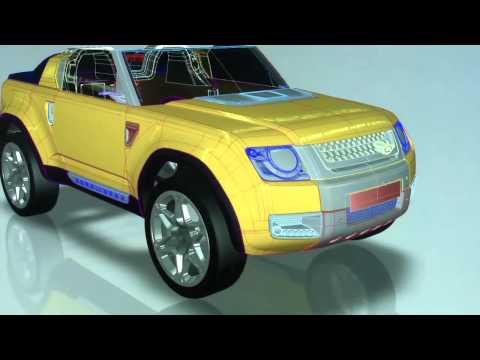Land Rover DC100 - Build