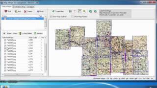 Об'єднання декількох карт (склейка) для OziExplorer (інструкція до Map Merge)
