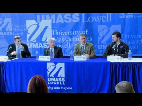 UMass Lowell Frozen Four Press Conference