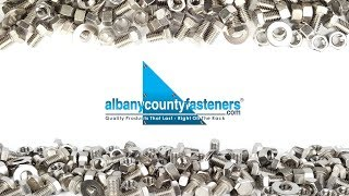 Welcome to Albany County Fasteners - Fasteners 101