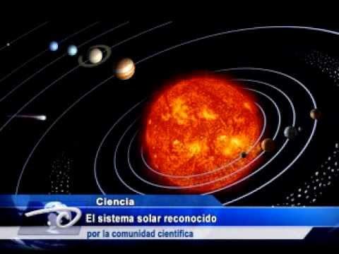 El Sistema Solar Reconocido Por La Comunidad Cient 237 Fica