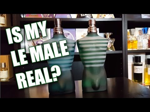 Real Vs Fake Le Male By Jean Paul Gaultier Youtube