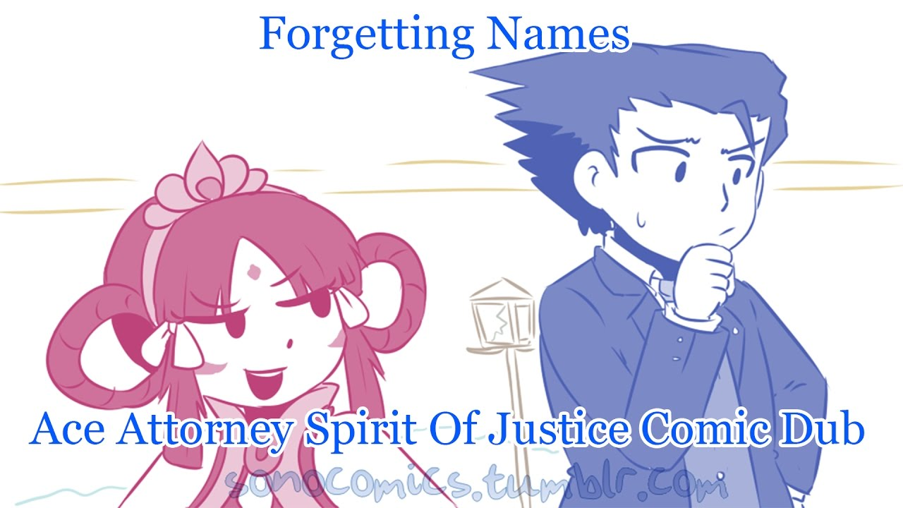 Von Archive Forgetting Names Ace Attorney Spirit Of Justice