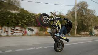 Husqvarna 701 | Wheelie Avenue #3 | Sunny Winter Days | ATH BIKELIFE | Supermoto