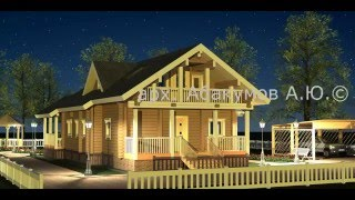 видео деревянные дома проекты и цены