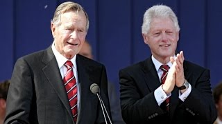 A letter george h.w. bush left for bill clinton after losing the 1992 election is resurfacing wednesday night's presidential debate.