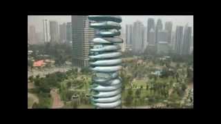 Skyscraper With Rotating Floors...