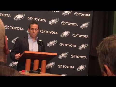 Philadelphia Eagles' Howie Roseman recaps 2016 season