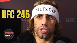 Urijah Faber talks fatherhood and his daughter Cali | UFC 245 Media Day | ESPN MMA