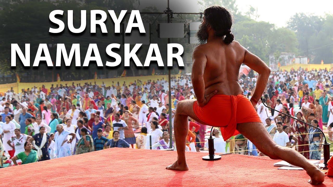 The Complete Guide to Surya Namaskar | Swami Ramdev - YouTube