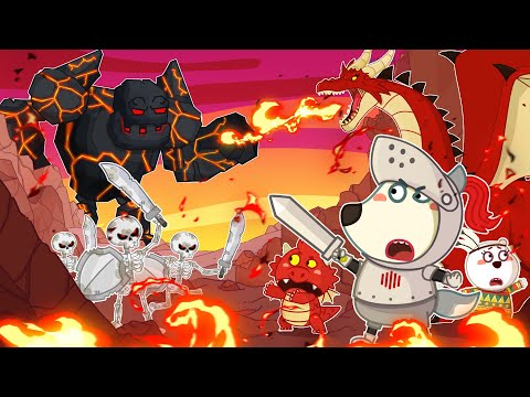 Knight Wolfoo Defeats