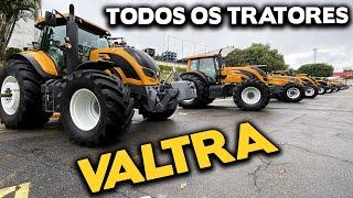 LINHA COMPLETA DE TRATORES VALTRA