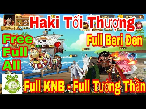 Game Mobile Haki Tối Thượng | Android & IOS | Free Full 9999999KNB – Full Tướng – Full Beri Đen