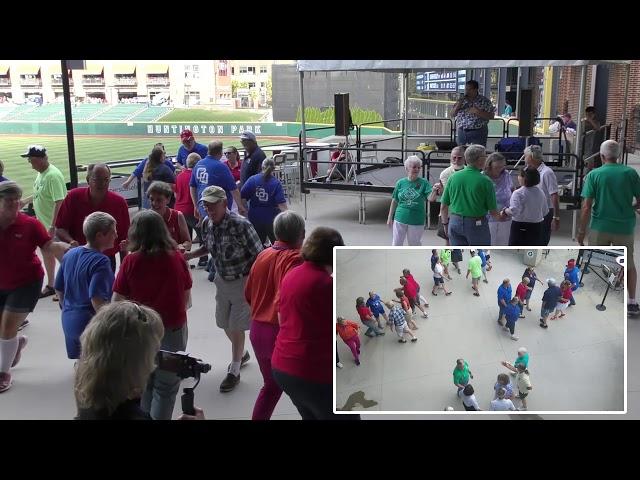 Columbus Clippers Dance -- 8/19/2019 -- 01 -- Jason Raleigh -- Mama Rock Me