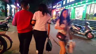 Cửa Khẩu Quốc Tế Lào Cai - Trung Quốc về đêm.