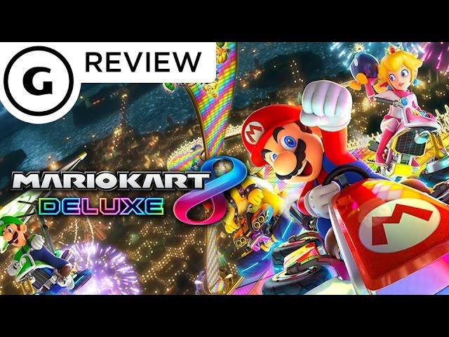 Mario Kart 8 Deluxe Review Youtube