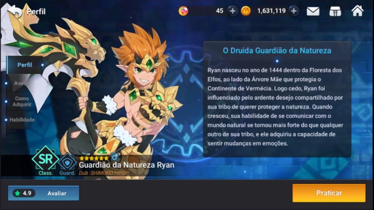 [Guia] Grand Chase Mobile - Ryan (Refeito)
