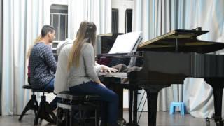 saint saëns danse bacchanale 2 pianos 8 hands